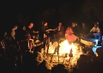 Maasai Story Telling during Camp Fire