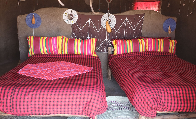 Traditional Maasai House Double Room